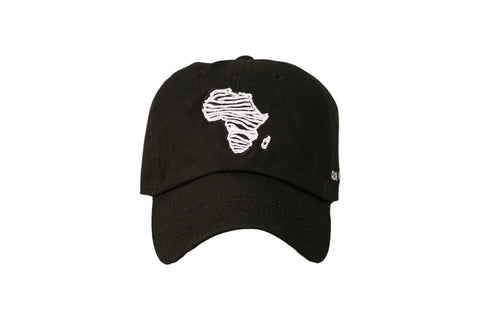 Zebra Africa Dad Hat (Black)SOLD OUT