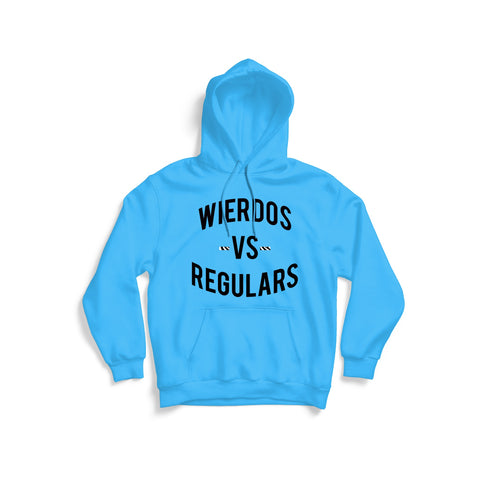 The Wierdos Vs The Regulars Hoodie (Carolina Blue)