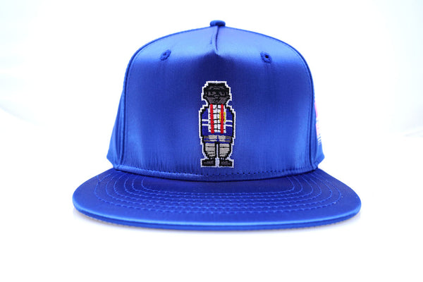 Digital Nerd Satin Snap Back (Royal Blue)