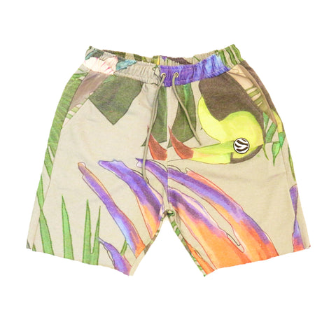 Safari Shorts (Heather Grey)