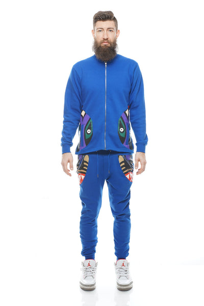 Totem Track Jacket (Royal Blue)