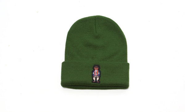 RCHWRDO Digital Nerd Logo Skullie (army green)