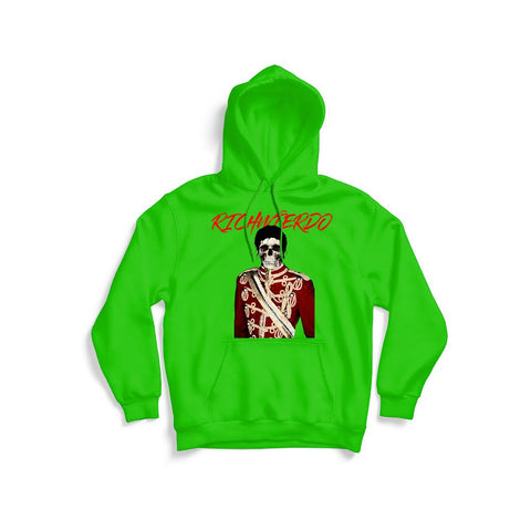 RichWierdo MJ Off the Wall Hoodie (Neon Green)