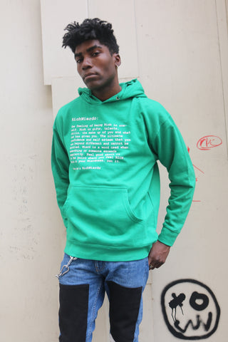 "RichWierdo ""The Definition"" Hoody (KellyGreen)"