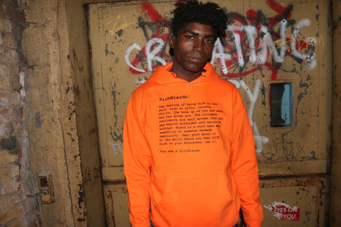 "RichWierdo ""The Definition"" Hoody (Orange)"