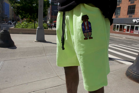"RichWierdo Digital Nerd Shorts  ""Neon"""