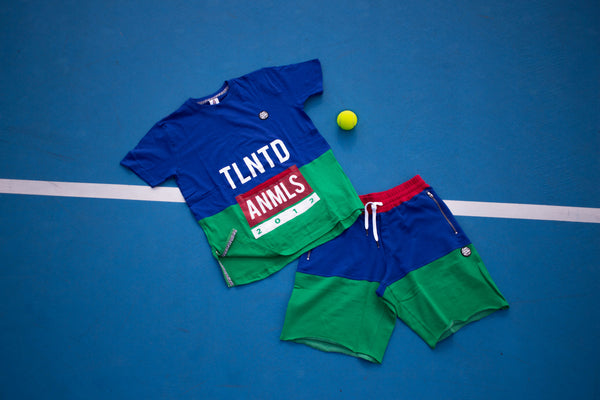 Talented Animals Tennis Set (Blue)