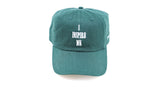 I Inspire Me Dad Cap- Dark Green ( Sold Out)