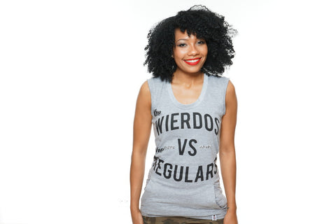 Women's Wierdos Vs The Regulars Tee -SOLD OUT