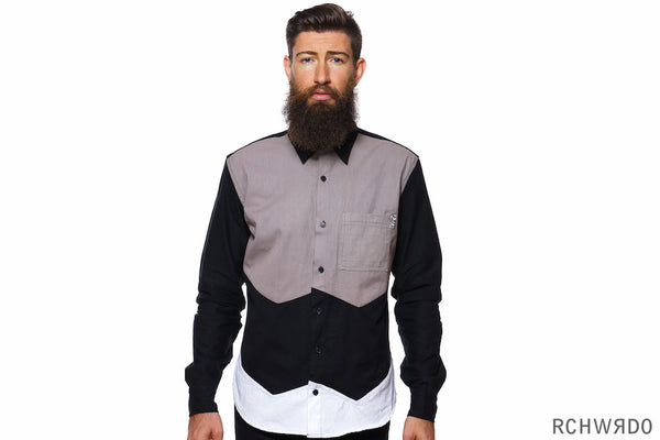 Almighty W Button up (Black)