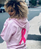 I Inspire Me Hoodie Pink (Cancer Awareness)