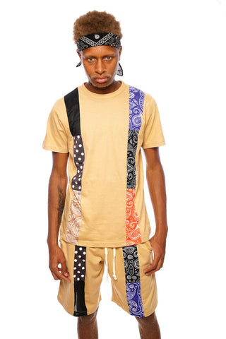 RCHWRDO Patchwork Shirt (Bronze)