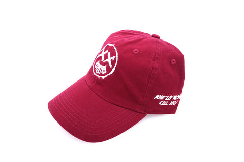 Don't O.D Dad Cap - Maroon (Sold Out)