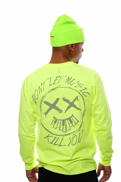 Don't Let Music Kill You (3 M safety Green)