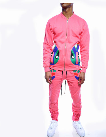 Totem Track Suit (Salmon)