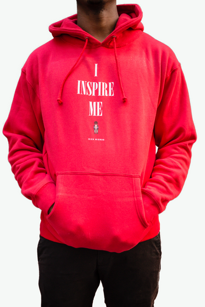 I inspire Me Hoody (Red)