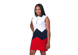 RichWierdo Tri-color Polo Dress *Sold Out*