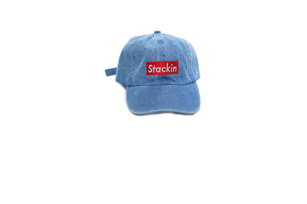 Stackin Jean Blue Dad Hat