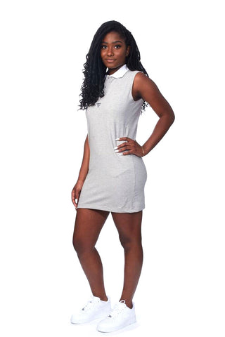 RichWierdo Polo Dress ( Heather Grey )
