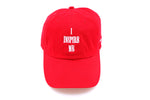 I Inspire Me Dad Cap (Red)