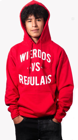 The Wierdos Vs The Regulars Hoody (Red)