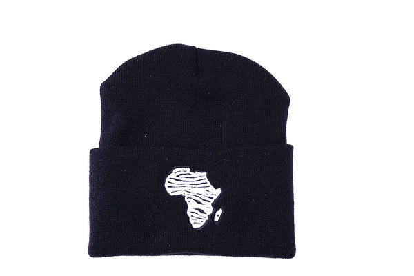 Zebra Africa Skully (BLACK)
