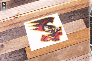Godai Elements Fire Initialism Sticker