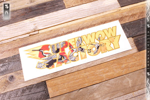 Godai Elements Wind Stacked Sticker
