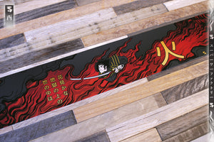 Godai Elements Fire Windshield Banner