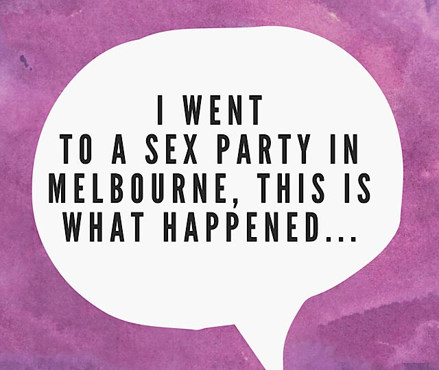 To Sex Party or not to Sex Party?