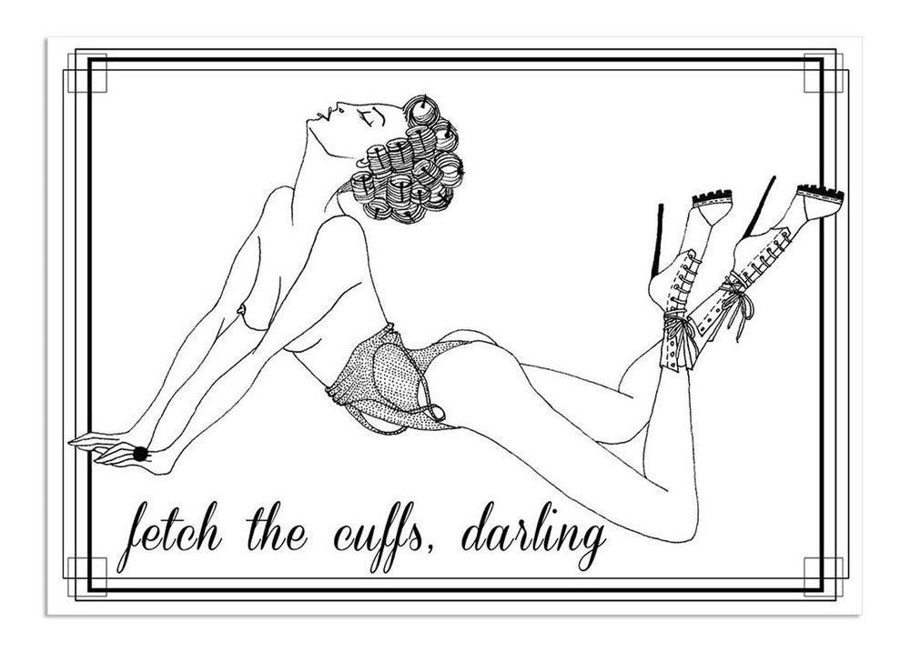 The Naughty Notary Erotic Postcard Collection