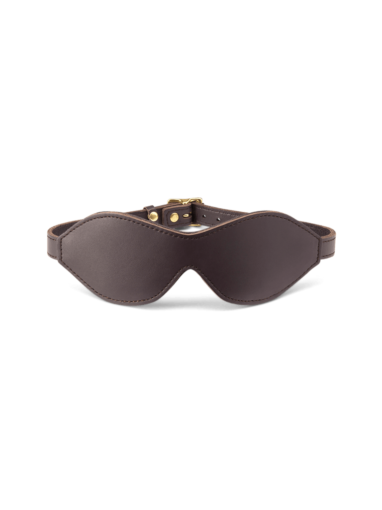 Leather Blindfold - Coco de Mer
