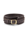 Leather Collar - Coco de Mer