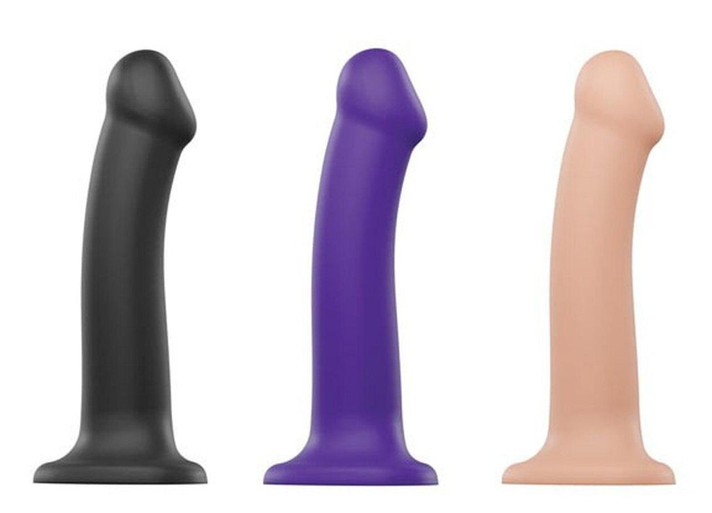 Strap-On-Me Dual Density Dildo: various sizes