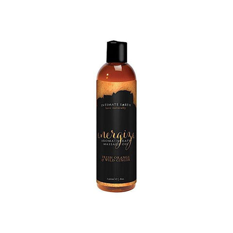 Organic Massage Oil (varied scents) - 240ml
