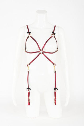 Cherry Playsuit by Fräulein Kink