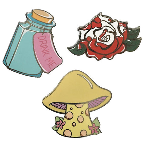 Wonderland Pin Pack