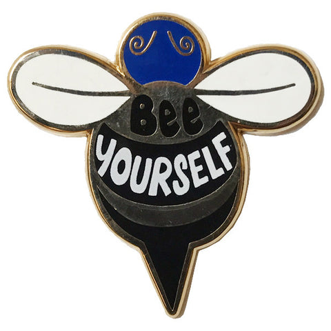 Bee Yourself Pin