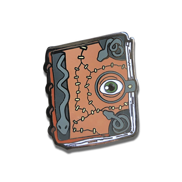 Witch's Spellbook Pin