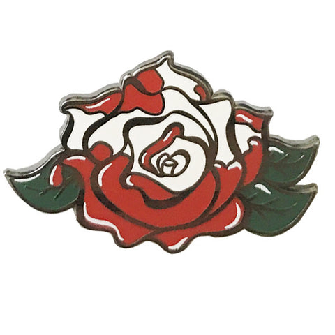 Painted Rose Pin