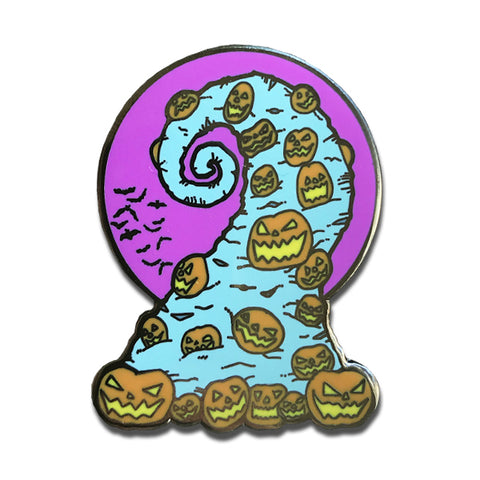 Haunted Holiday Pin