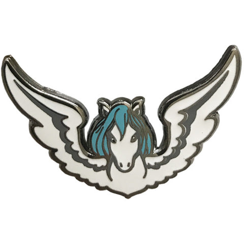 Winged Horse Brooch