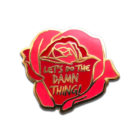 Bachelorette Rose Pin