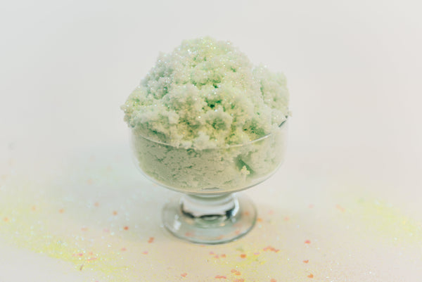 Sour Apple Shaved Ice