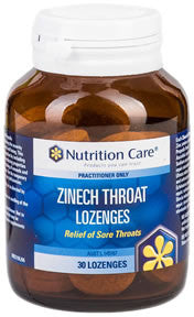 Zinech Throat Lozenges