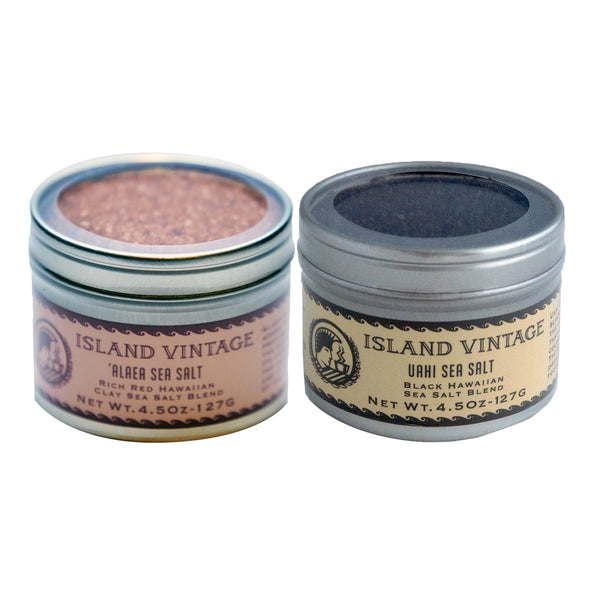 Hawaiian Sea Salt (Tin)