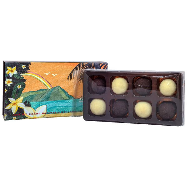 Chocolate Covered Macadamia Nuts Gift Box