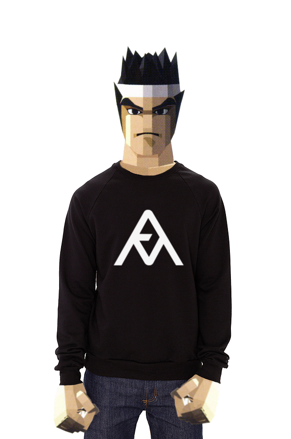 Attract Mode Logo Sweatshirt as worn by Akira