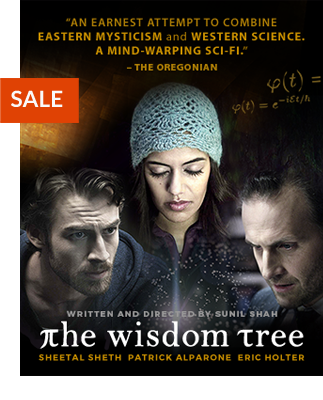 'The Wisdom Tree Film - an earnest attempt to combine Eastern mysticism and Western science... '