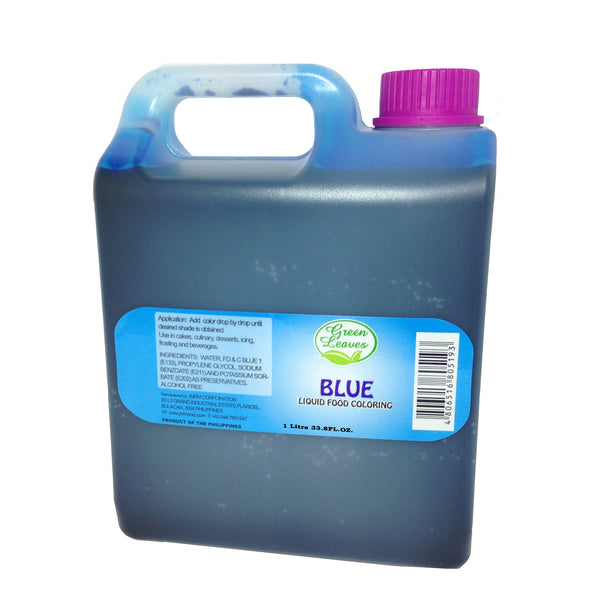 Green Leaves Blue Liquid Food Color 1 Kilo